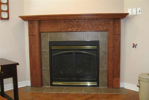 Need Help With Fireplace Surround, Mantle And Wood Storage