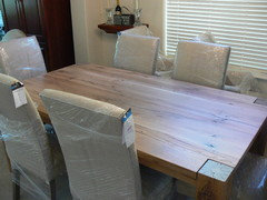 How To Protect Unfinished Wood Dining Table From Restoration Hardware - Vermont farm table reviews