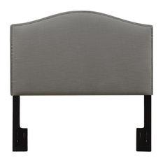 Full-Queen Upholstered Headboard -in Ash