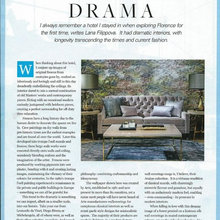 ARTE wall papers, my latest article for Living Edge magazine