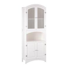 koehlerhomedecor.com - Koehler Home Decor Wooden Linen Cabinet - Kitchen Cabinetry