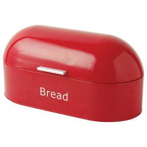 Chef Vida Retro Bread Bin, Red