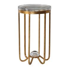 Allura Gold Accent Table