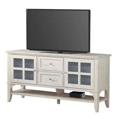 Parker House Hilton TV Console White 63-inch