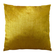 Plutus Lumiere Bronze Handmade Throw Pillow, Double Sided, 16x16