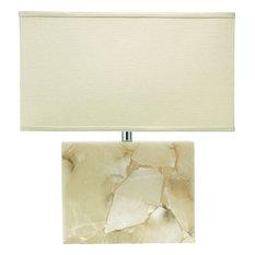 Borealis Table Lamp, White, Large