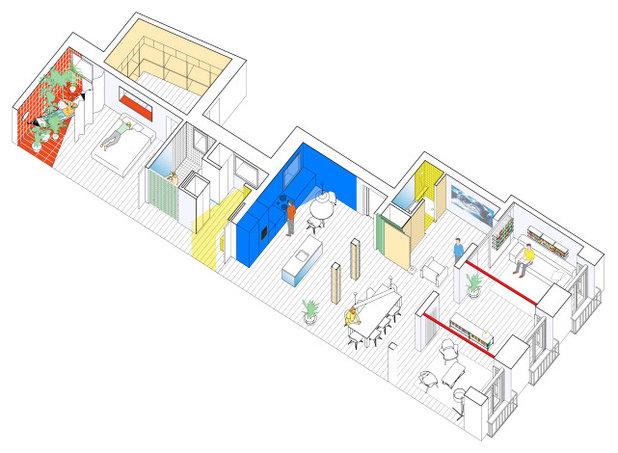 Современный Внутренний план by gon architects