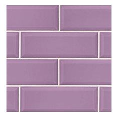 Modern Byzantum 4x12 Wall Tile, Viola