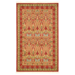 """Unique Loom - Unique Loom Carnation Edinburgh Area Rug, Red, 3'3""""x5'3"""" - The classic look of the Edinburgh Collection is sure to lend a dignified atmosphere to your home. With an array of colors and patterns to choose from, there�s a rug to suit almost any taste in this collection. This Edinburgh rug will tie your home�s decor together with class and amazing style."""