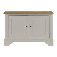 Somerdale Display Cabinet Base Unit, Coastal Grey