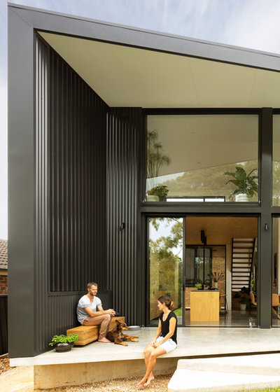 Modern Exterior by Christopher Polly Architect