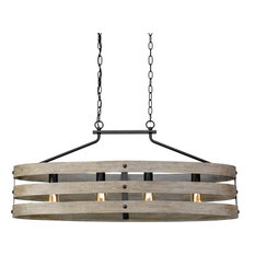 Luxury Modern Farmhouse Chandelier, Adelaide Series, Charcoal