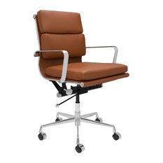 Laura Davidson SOHO Soft Pad Management Chair, Brown