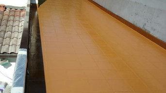 DESPUÉS de Impermeabilizar terraza SIN OBRAS con poliurea ATKCOAT