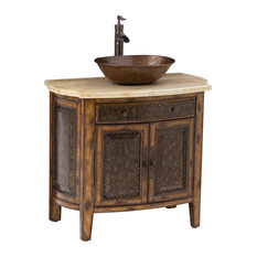 Beau Ambella Home Collection, Inc.   Rustico Vessel Sink Chest   Bathroom  Vanities And Sink