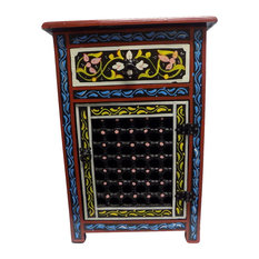 Moroccan Moucharabi Nightstand   Nightstands And Bedside Tables