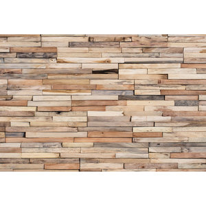 Reclaimed Wood Tiles Mercury Sample