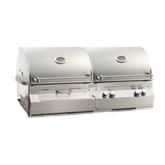 A830I6EAPCB Analog Gas/Charcoal Combo Built In Grill, Liquid Propane