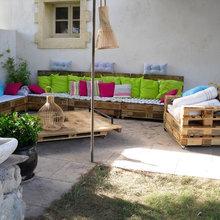 Salon De Jardin Campagne Terrasse En Bois Marseille