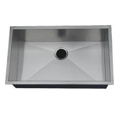 Chef Pro Zero-Radius 16 Gauge Single Bowl Sink