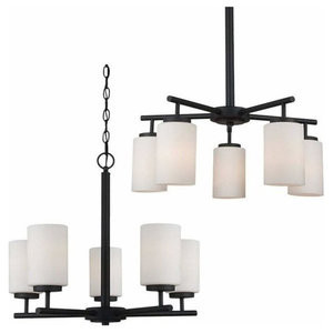 5-Light Chandelier Blacksmith