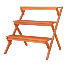 Outdoor 3-Layer Plant Stand