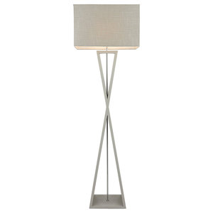 Kaden Floor Lamp, Grey