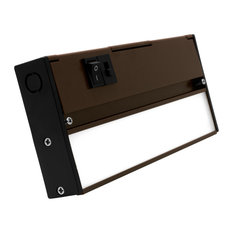 NUC-5 Series Selectable LED Under Cabinet Light, Oil Rubbed Bronze, 8