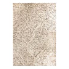 "Dynamic Rugs Quartz 26190 Area Rug, Ivory, 9'2""x12'10"" Rectangle"