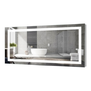 "Kent LED Bathroom Mirror With Touch Sensor, 72""x30"""