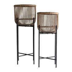Begawan Rattan Baskets, Set of 2
