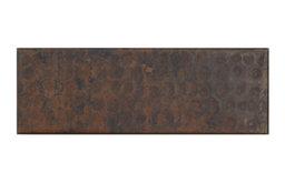"2"" X 6"" Liner Design Mexican Hammered Copper Tile (TL009)"
