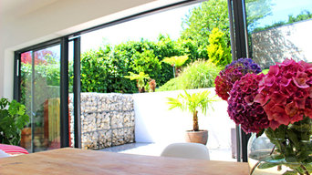 Open plan, kitchen, dining, living area, patio, Hove
