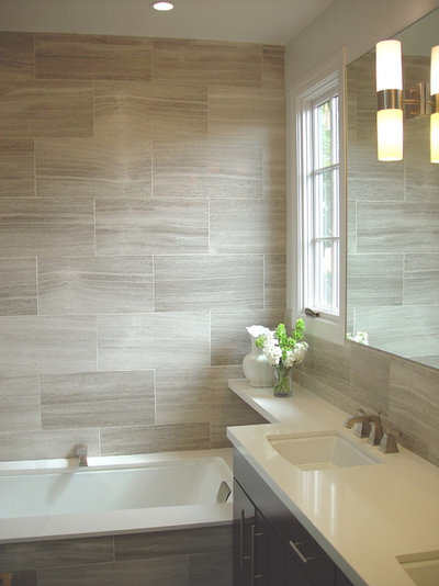 Contemporary Bathroom by Mike Connell