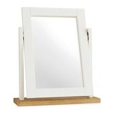 Atlanta 2-Tone Painted Furniture Dressing Table Vanity Mirror