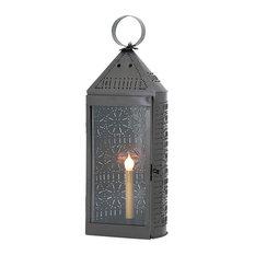 Tall Harbor Lantern, Smokey Black