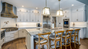 Kitchen Refacing and Laundry Makeover in Johns Creek GA
