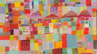 peintures villes