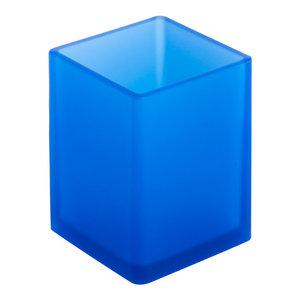 Soft Tall Bathroom Organiser, Blue