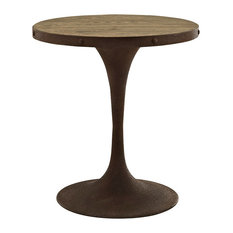 Modway Drive Dining Table, Brown, 27.5 Round by Modway