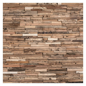 Wheels - Reclaimed Wood Tiles by Wheels (10.76 sq ft)