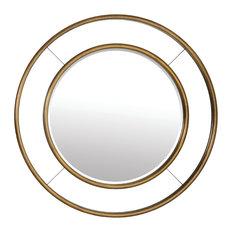 Grace Round Wall Mirror, 105 cm