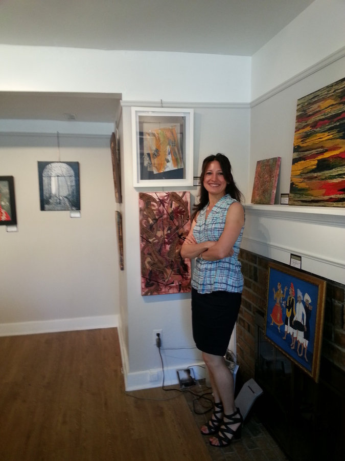 Spring Fling Group Show at Mill Pond Gallery 2015