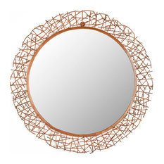 Safavieh Alyssa Mirror, Burnt Copper