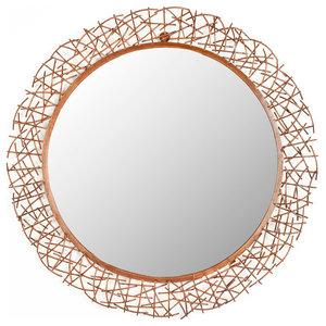 Safavieh Alyssa Mirror, Burnt Copper