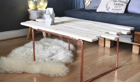 Chez les Houzzers : Dans les coulisses de 8 meubles faits maison