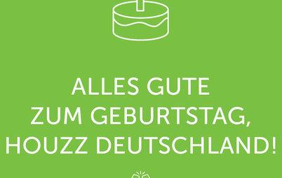 Ein Jahr Houzz Deutschland – wir feiern mit den 12 schönsten Projekten!
