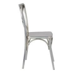 Fine Mod Imports Jenbo Dining Side Chair, Gunmetal
