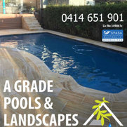 A Grade Pools and Landscapes's photo