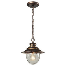 Beach Style Outdoor Hanging Lights by ELK Group International